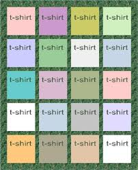 Anatomy of a T-shirt Quilt & Style A: This is a standard quilt layout. The number of blocks will vary  based on the number of t-shirts. Adamdwight.com