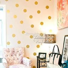 dot wall decals golden polka dots wall sticker sticker baby nursery gold dot wall decal kids