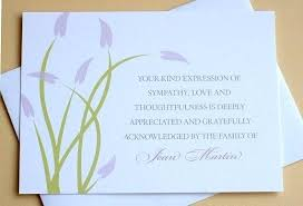 Thank You Note After Funeral To Coworkers Writing A Thank You Card For Funeral Flowers Flowers Healthy