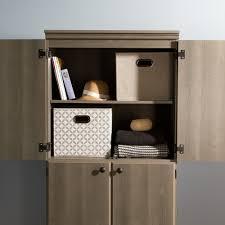 Orion 4 Door Kitchen Pantry Design600600 4 Door Storage Cabinet Altra White Stipple 4door