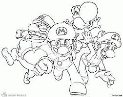 Super Smash Bros Printable Coloring Pages New Super Mario Bros Wii