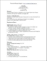 Types Of Resumes Samples Resume Types And Examples Resumes Types