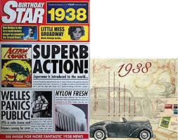 Compilation 1938 Birthday Gift Set 1938 News Documentary