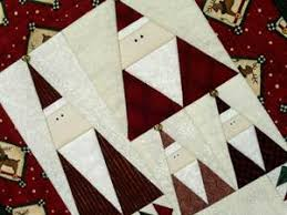 Google Image Result for http://cf.ltkcdn.net/crafts/images/std ... & Triangle Santas free Christmas quilt pattern source: love to know crafts Adamdwight.com
