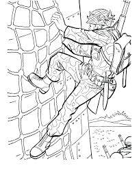 Soldier Coloring Page Thank You Soldier Coloring Page Soldier