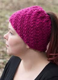Messy Bun Beanie Knitting Pattern New Design Inspiration