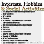 Hobby And Interest In Resume Hobbies In Resumes How To List Hobbies And Interest On A Resume