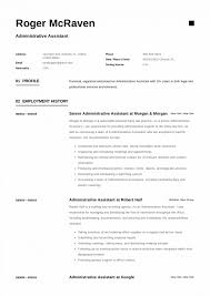 Best Resume For Administrative Assistant Best Executive Assistant Resume Administrative Samples Top