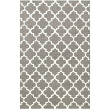 grey moroccan trellis rug uk gray cotton handmade