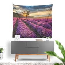 wall art tapestry lavender fields by ziya blue on lavender fields wall art with wall art tapestry lavender fields by ziya blue ziya blue
