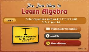 hands on equations 1 1
