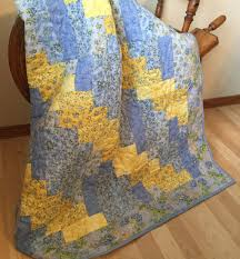 Yellow and Blue Quilt, Handmade Quilts for Sale, Homemade Quilts ... & Handmade quilt for sale, Made in Wisconsin! 40 x 55 inches. Visit www Adamdwight.com