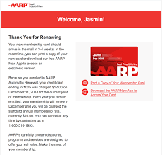 i just renewed my aarp membership for another year with automatic renewal for 12