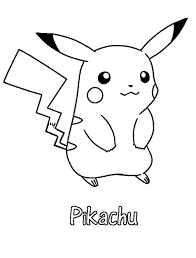 Pikachu Coloring Page Free Printable Pikachu Coloring Pages For Kids