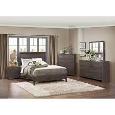 Queen Bed Bedroom Set Modern Platform Customizable Bedroom Set Modern Queen Bed 3 Drawer