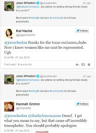 Whedon is in negotiations to write, direct and produce a batgirl. Joss Whedon Just Exposed Himself As Transphobic On His Twitter Movies
