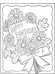 35 Luxury Happy Birthday Coloring Pages Pics Velimblog Org Colouring
