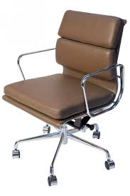 eames reproduction office chair. Eames Reproduction Office Chair Replica Low Back Soft Pad Management Brown For Pain Blue Velvet Accent 2