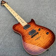Aliexpress.com : Buy New Style Electric guitar, Body & Head with ... & New Style Electric guitar, Body & Head with Quilted Maple top, Black  Hardware, Adamdwight.com