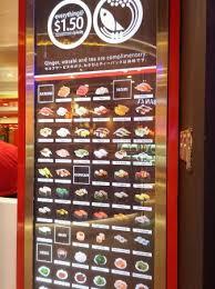 Sushi Vending Machine New Sushi Express Singapore 48 Serangoon Central Nex Restaurant
