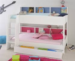 bunk bed with shelves tap to expand
