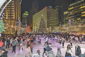 Campus Martius Christmas Tree Lighting 2017 Plenty To Do In Downtown Detroit This Holiday Season