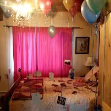 friends bedroom for her birthday