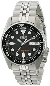 seiko men s automatic diver skx013k2 silver stainless steel seiko men s automatic diver skx013k2 silver stainless steel automatic watch black dial