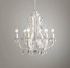 small crystal chandelier enchanting bedroom