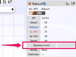 Pokemon Ability Chart Pokemon Sword And Shield Dynamax Level How To Increase