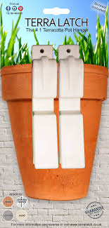 Check out our all NEW White Terra Latch Plant Pot Holder perfect for white  walls and Balcony Gardening gardening