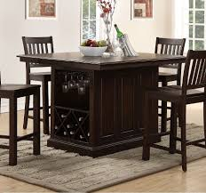 San Juan Counter Height Island Table By New Classic Furniture