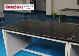 acid resistant phenolic resin laboratory countertops for lab furniture black color
