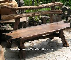 Rustic Outdoor Furniture  TK Tables Is The Outdoor Timber Hardwood Outdoor Furniture