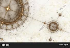 Ancient Nautical Chart Image Photo Free Trial Bigstock