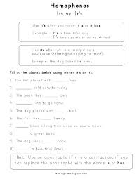 Homophones Worksheets For Grade 3 Library Homographs 4th Free ...
