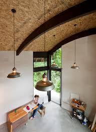 office ideas home office with dark window trim wood workbench