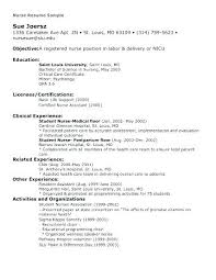 Nursing Resume Templates Free Seek Resume Template Student Nurse Resume Template Free Sample ...