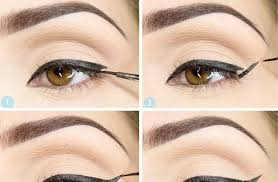 how to do the perfect cat eye flick