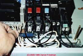 how to recognize aluminum electrical wiring in buildings photograph of aluminum wire in the electric panel
