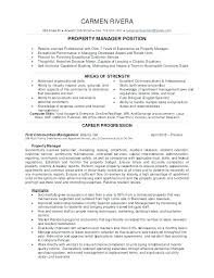 Property Management Resume Samples Property Manager Resume Sample Monster Apartment Assistant Awesome