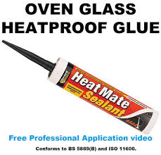 hotpoint indesit 300ml oven door glass silicone sealant cooker glue fit