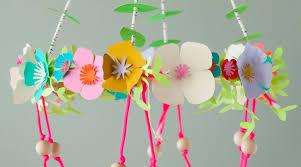 cricut crafts paper flower chandelier