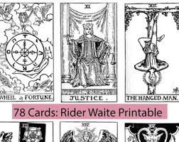 You can easily print this tarot deck by using a color printer at your home or office. Color Tarot Cards Etsy