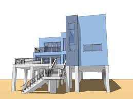 beach house plans on pilings. Beach House Plans Pilings With Garage Ideas Including Modern Pictures On
