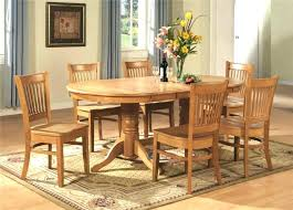 round dining table with 6 chairs size