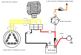 voltage regulator a summary techy at day blogger at noon and this system can easily be distinguished by the three yellow wire sometimes three white depends on the brand of the bike when you see one then its a three