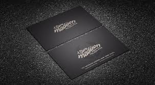Stylish Retro Typography Business Card Template