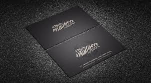 business card templates stylish retro typography business card template