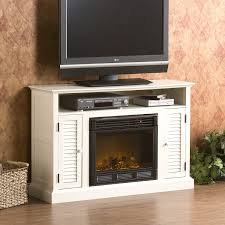 antebellum a electric fireplace antique white